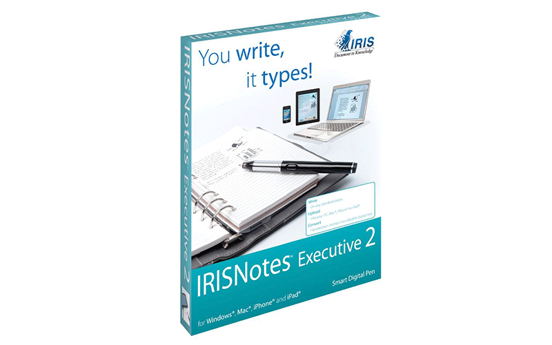 IRISNotes  Executive 2 - Smartpen Test