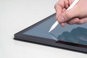 Tablet mit Stifteingabe