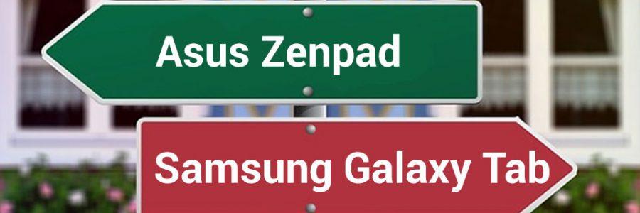 Asus Zenpad oder Samsung Galaxy Tab?