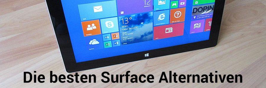 Die besten Alternativen zum Surface Pro
