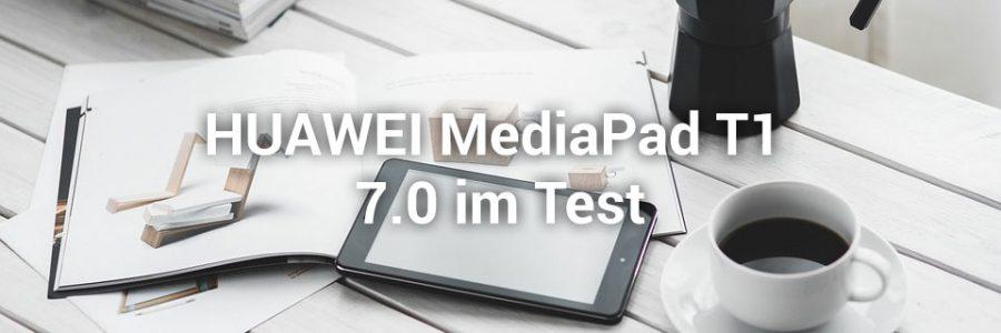 Das Huawei Mediapad T1 7.0 im Test